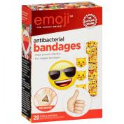 Emoji The Iconic Brand Antibacterial Bandages 20 ct Box