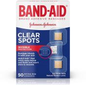 BAND-AID Clear Spots Bandages 50 ea