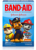 BAND-AID Adhesive Bandages, Nickelodeon Paw Patrol, Assorted Sizes & Character 20 ea