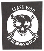 Class War Back Patch (Large