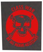 Class War Back Patch (Large