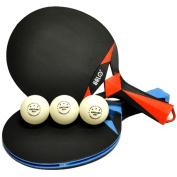 Kettler Indoor/Outdoor HALO X Table Tennis Racket Set