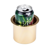 Brybelly Vivid Gold Aluminium Drop In Cup Holder