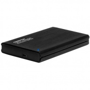 External Enclosure for 6.4cm SSD/SATA HDD, Black