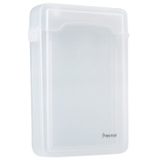 Insten SATA HDD Hard Drive Storage Case, 8.9cm , Clear