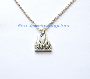 Fire Necklace | Flame Necklace | Fire Jewellery | Flame Jewellery