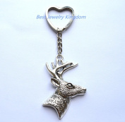 Christmas Gifts for Men, Brother Gift, Gift for Hunter, Deer Hunter, Deer Keychain Hunting Gift, Gifts for Dad Dad Gift