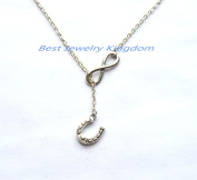 Infinity Necklace ,hand made jewellery,The Perfect Gift ,Lucky horseshoe necklace,horseshoe jewellery ,animal necklace