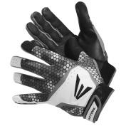Easton HS7 Men's Batting Gloves Black Grey White Small