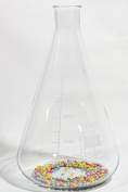 CONICAL ERLENMEYER FLASK 5L 5000ML BOROSILICATE GLASS