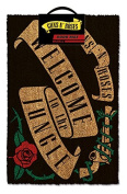 """Guns N' Roses """"Welcome To The Jungle"""" Doormat, Multi-Colour"""