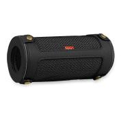 Fintie JBL Flip 3 Wireless Speaker Case - Premium Vegan Leather Carrying Sleeve Cover , Black