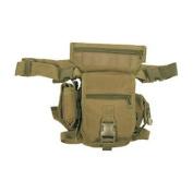 Travel Waist Pack Hip Bag 10 Pockets Fishing Hiking Coyote Brown Tan
