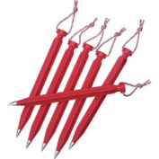 Msr Dart Stake 23cm X6 Kit Unisex Tent Peg - Red One Size