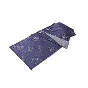 Outry 100% Cotton Portable Travel Sheet, Sleeping Bag Liner Plumflower, S -