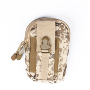 Edc Military Tactical Waist Bag Pouch Pack Phone Wallet Outdoor Camping Hiking