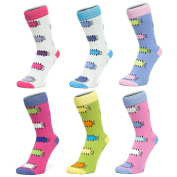 Ankle Socks With Patch Style Design (size