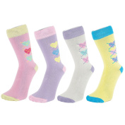 Ankle Socks With Heart Design (size