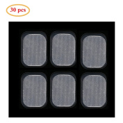 EMS Abs Replacement Pads,Charminer Abs Trainer Replacement Gel Sheet Abdominal Toning Belt Muscle Toner Ab Trainer Accessories 30pcs Gel Sheets For Gel Pad
