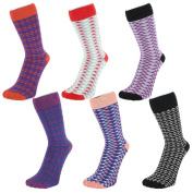 Geometric Design Ankle Socks (size