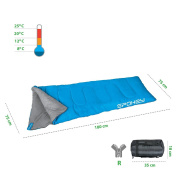 Spokey® Cosy Child's Mummy Sleeping Bag Camping Outdoor Camping Blanket + Up®