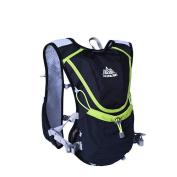 Aonijie Men Wome Marathon Cycling Lightweight Running Backpack , Black