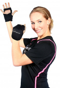 Powergloves® Weighted Workout Gloves by Powerhoop - Now with Adjustable Weight!