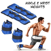 Lions Ankle Wrist Weights Fitness, Strength Training, 1kg, 2kg, 3kg, 4kg, 5kg, 6kg, 8kg & 10kg Pair