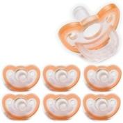 Jollypop Pacifier 0-3 month Orange Vanilla Scent- SINGLE PACK