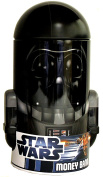 Star Wars - Darth Vader Shaped - Children Tin Coin Piggy Bank
