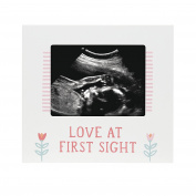 Pearhead Sonogram Frame, Girl, Pink