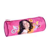 SOY LUNA TROUSSE RONDE Pencil Cases, 22 cm, Pink