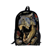 Showudesigns Cool Printing Dinosaur Backpack for Boys Kids Sport Bag