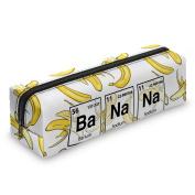 Pen Pencil case Toiletry Bag Vanity case, make up, purse, phone handbag, jewellery pouch Banana chemistry [008]