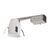 Elco EL39RA 7.6cm 50W Line Voltage Miniature Airtight Remodel Housing for GU10 Bulb