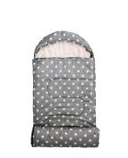 Bloomingville Cool Grey Spotty Camping, Sleeping Bag