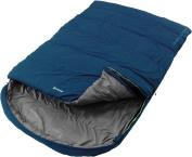Outwell Campion Lux Camp Sleeping Bag Double Grey/blue Mummy Sleeping Bag