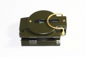 The Young Marching Lensatic Compass Deluxe Military Metal Compass