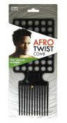 Afro Twist Comb Black twist your hair in minutes