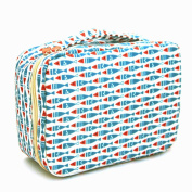 Ac.y.c Makeup Cosmetic Bag Toiletry Travel Kit Organiser-Multi-Function Cute Printed Pouch for Little Young Girl