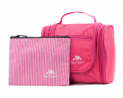 Premium Cosmetic Bag By AmElegant - Spacious Women And Men Toiletry Bag - Makeup Organiser And Beauty Product Organiser