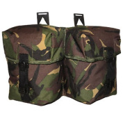 Double Plce Utility Combat Pouch Army Military Highlander Spanish Clips Dpm Camo