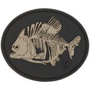 Maxpedition Piranha Bones 3d Rubber Morale Patch Army Tactical Badge Swat