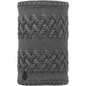 Buff Savva Knitted Womens Accessory Neck Gaiter - Grey Castlerock Vigore Fleece
