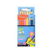 Mini 6 Coloured Pencils Set, Drawing Pencils, Art Supplies for School