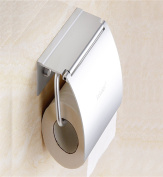 Sucastle® 140*88*110(mm) Space aluminium Wall Mounted Bathroom Toilet Paper Holders Self Adhesive Toilet Paper Holder Wall Mount Contemporary Style