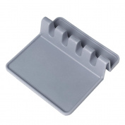 Pawaca Utensil Rest, Made of Non-slip Heat-safe Silicone, Hold Multiple Utensils Kitchen Storage Accessories