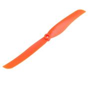 EP-8040 Vane Aircraft Plane Propeller Flight CW CCW 8 Orange w Adapter Rings