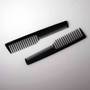 18cm Plastic Wide Tooth Tease Comb