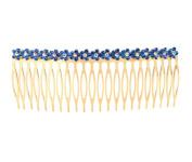 Metal Hairpin Hair Supplies 11 Cm Side Combs Hair Combs,Blue